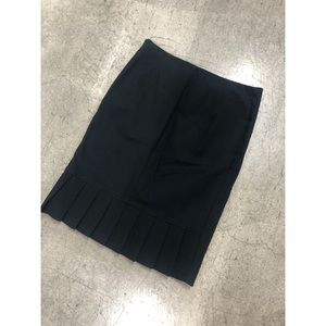 Guess MARCIANO Black pleated Pencil business skirt